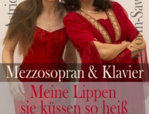 Meine Lippen, sie küssen so heiß: Konzert am Valentinstag in Schwetzingen